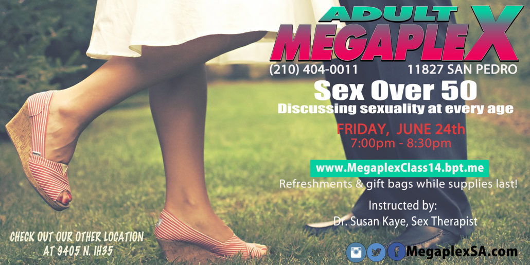 Megaplex Events - Sex Over 50